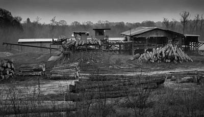 Photograph - The Sawmill In Nacogdoches by Nadalyn Larsen