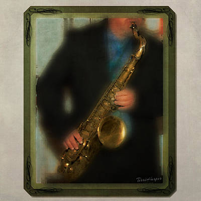 Photograph - The Sax Player by Terri Harper