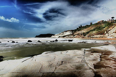 Photograph - The Scala Dei Turchi II by Patrick Boening