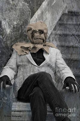 Photograph - The Scarecrow Lives by Nina Silver