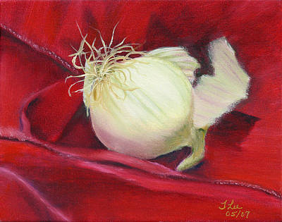 Painting - The Scarlet Pearl by Tracie L Hawkins
