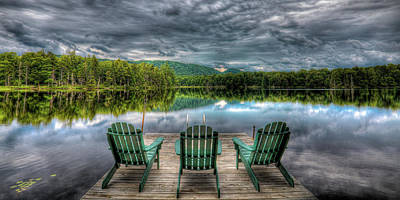 Forests Photograph - The Scenic Adirondacks by David Patterson