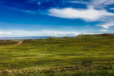 Laramie Photograph - The Scenic Laramie Plain by Mountain Dreams