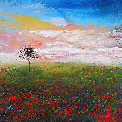Painting - The Scented Sky by Kume Bryant