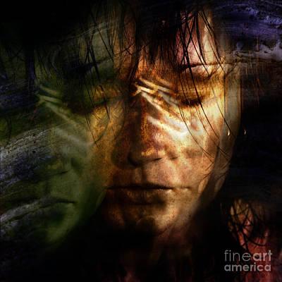 The Schizophrenia Art Print by Angel  Tarantella