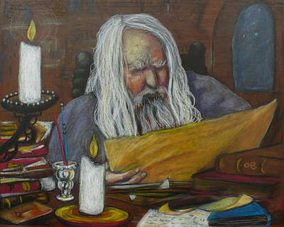 The Scholar Art Print