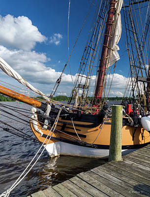Photograph - The Schooner Sultana by Brian Wallace
