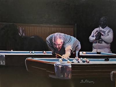 Painting - The Scientific Deduction by David Buttram