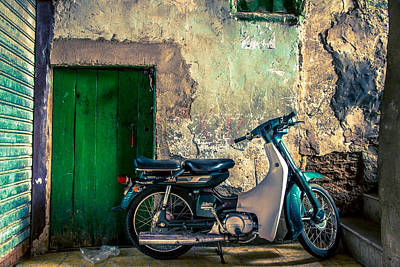 Photograph - The Scooter by Justin Albrecht