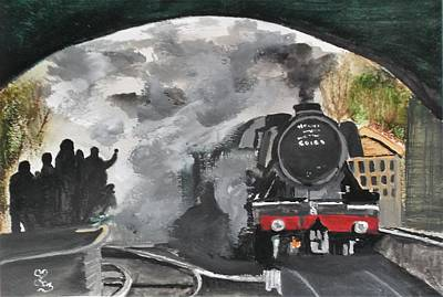 Painting - The Scotsman by Carole Robins