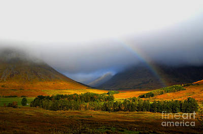 The Scottish Highlands Print by Steven Brennan