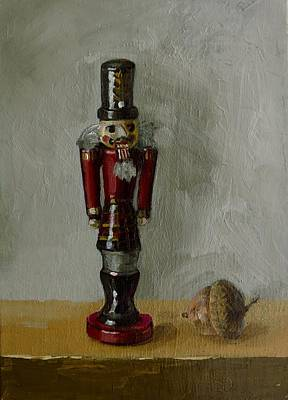 Painting - The Scottish Nutcracker by Grace Diehl