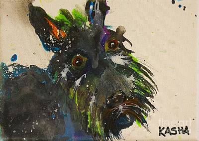 The Scotty Dog Original by Kasha Ritter