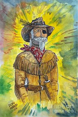 Rawhide Painting - The Scout by Don Hand