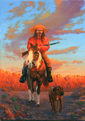 Painting - The Scout by Howard Dubois