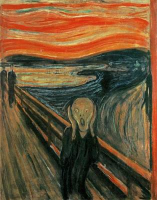 The Scream  Original by Edward Munch
