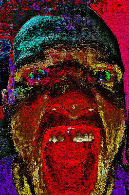 The Scream. Today. Art Print