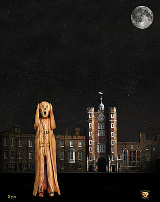Mixed Media - The Scream World Tour St James's Palace  by Eric Kempson