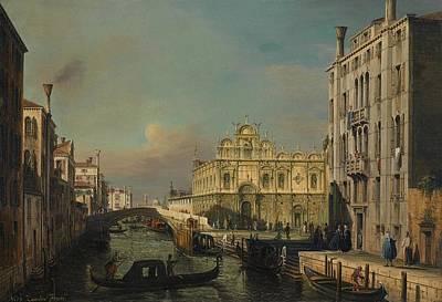 The Scuola Grande Di San Marco By The Rio Dei Mendicanti Art Print by MotionAge Designs