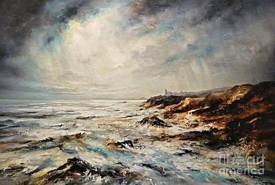 Painting - The Sea  by AmaS Art