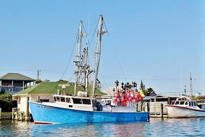 Photograph - The Sea Born - West Ocean City Harbor by Kim Bemis