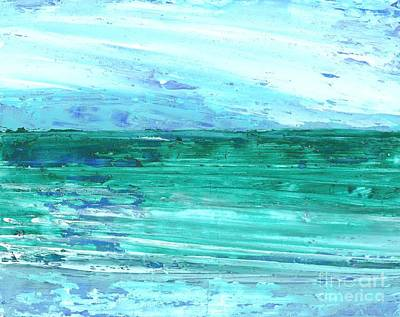 Painting - The Sea by Corinne Carroll