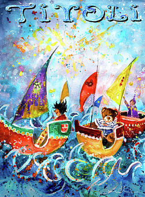 Painting - The Sea Cruise Of Tivoli Gardens by Miki De Goodaboom