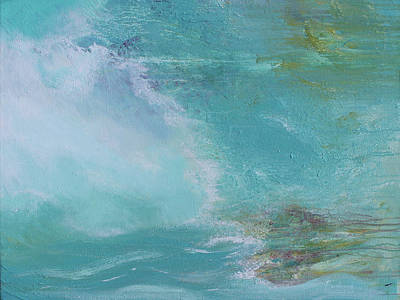 Painting - The Sea In Her Soul by Robin Lewis