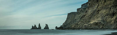 Photograph - The Sea Stacks Of Vik, Iceland by Andy Astbury