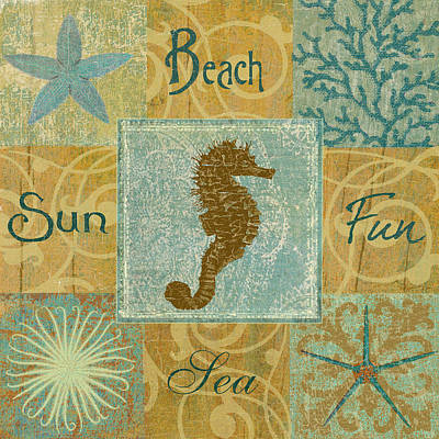 Seahorse Mixed Media - The Seahorse by Marilu Windvand