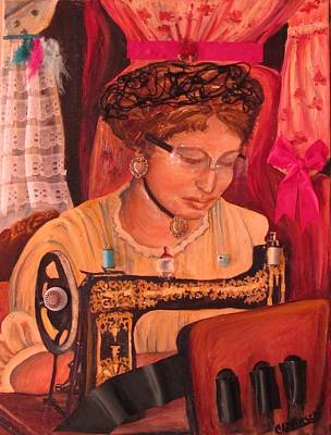 Painting - The Seamstress by Carol Allen Anfinsen