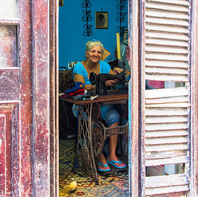 Photograph - The Seamstress by Rand