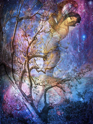 Digital Art - The Seasons Winter by Debra and Dave Vanderlaan
