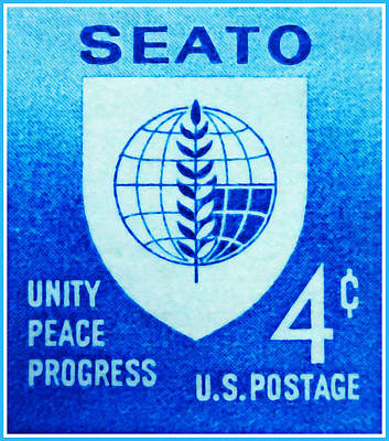 Unity Painting - The Seato Stamp by Lanjee Chee
