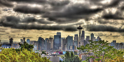 Photograph - The Seattle Skyline From Kerry Park by David Patterson