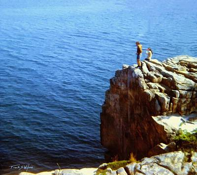 Photograph - The Seawatchers by Frank Wilson
