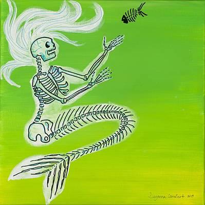 Wall Art - Painting - The Seaweed Is Always Greener by Deyanna Lambert