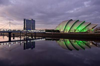 Photograph - The Secc And Bells Bridge by Stephen Taylor