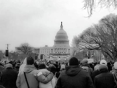 Vice President Biden Photograph - The Second Inauguration Of President Barack Obama by Rick Grossman