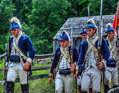 Photograph - The Second Regiment Light Dragoons 002 by Jeff Stallard
