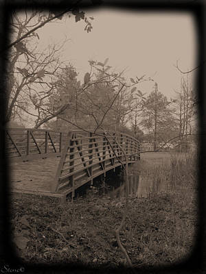 Photograph - The Secret Bridge by September  Stone