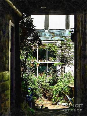 Photograph - The Secret Courtyard by Dorothy Berry-Lound