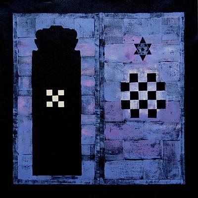 Mysterious Doorway Painting - The Secret Door by Diana Perfect