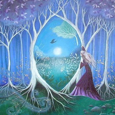 Amanda Clark Painting - The Secret Garden by Amanda Clark