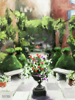 Painting - The Secret Garden by Beverly Brown