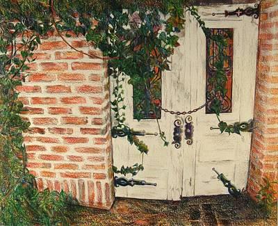 The Secret Garden Art Print by Lois Guthridge