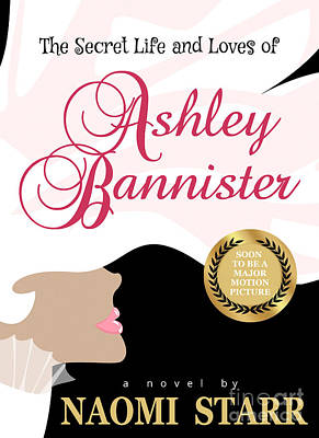 Book Jacket Design Photograph - The Secret Life And Loves Of Ashley Bannister Book Cover by Mike Nellums