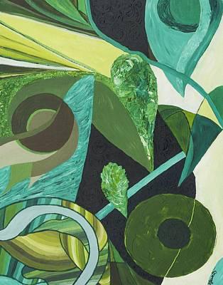 Wa Painting - The Secret Mind by Sarah  Jewett