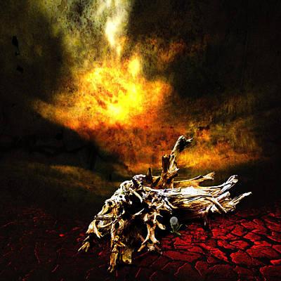 Desolation Digital Art - The Seed by Jeff Burgess