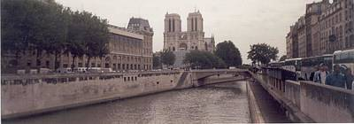 Photograph - The Seine And Notre Dame by Christopher Kirby